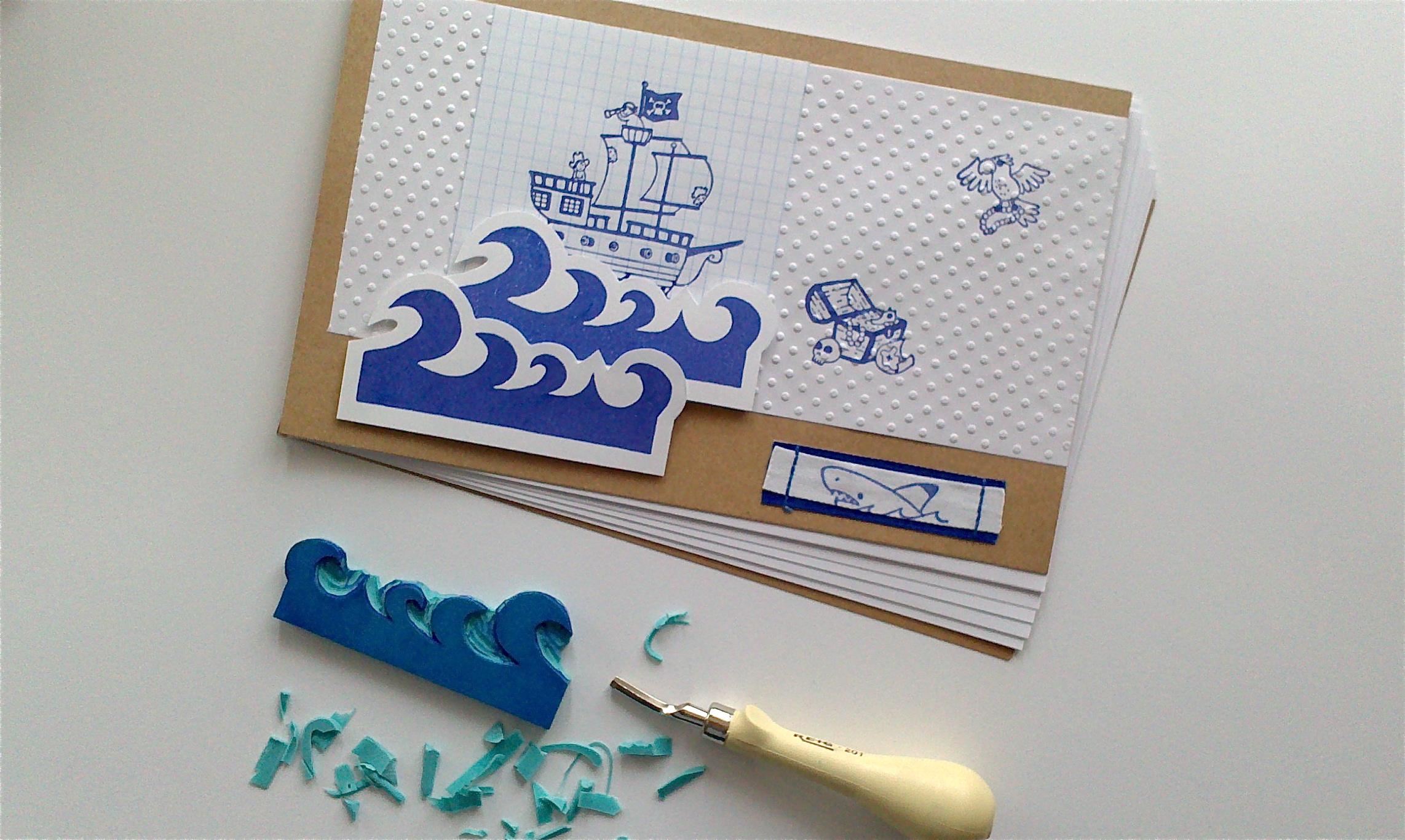 Próximo taller de carvado de sellos enmarzo